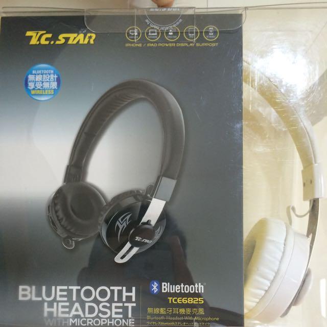 藍牙耳罩式耳機