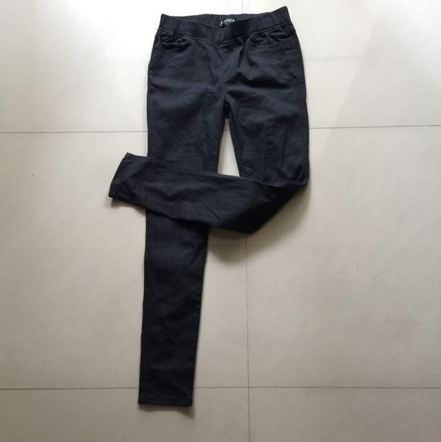 ✨含運✨OB嚴選 超彈性顯瘦黑褲