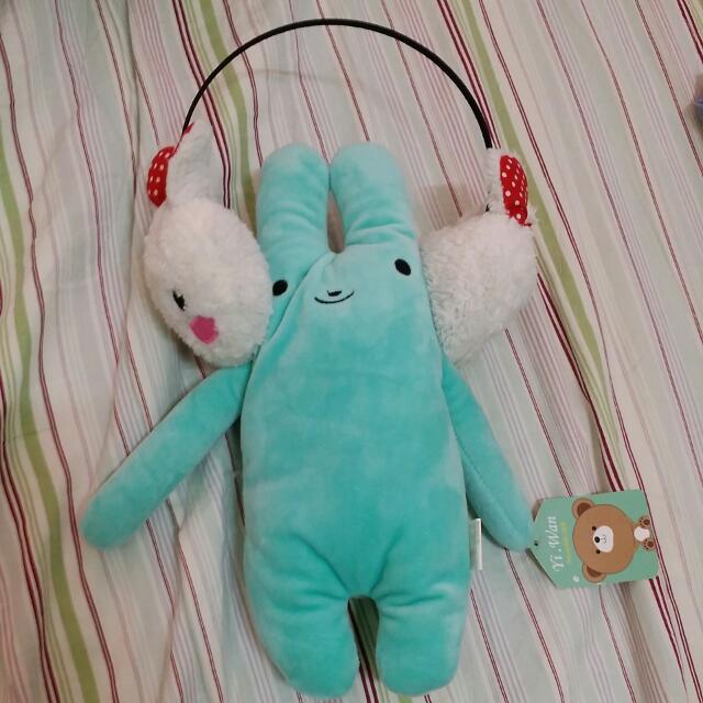耳罩(兔子示範)