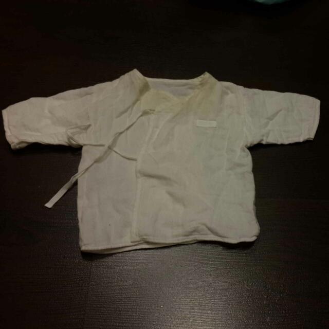 贈送新生兒紗布衣