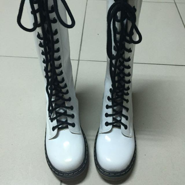 (降價)可議價!馬汀高筒靴