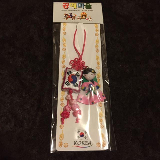韓國傳統服裝小吊飾🎐