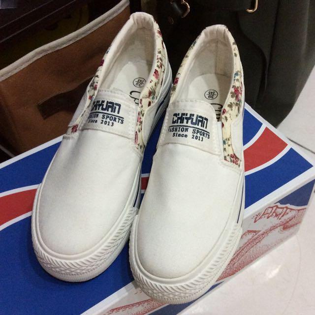 全新 復古帆布便鞋