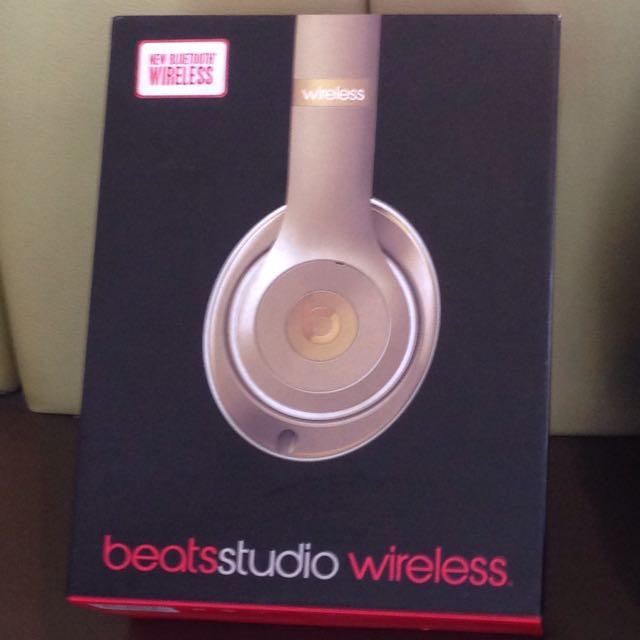 Beats Studio 2.0(金色✨)