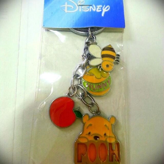 【全新】Disney 小熊維尼吊飾/鑰匙圈