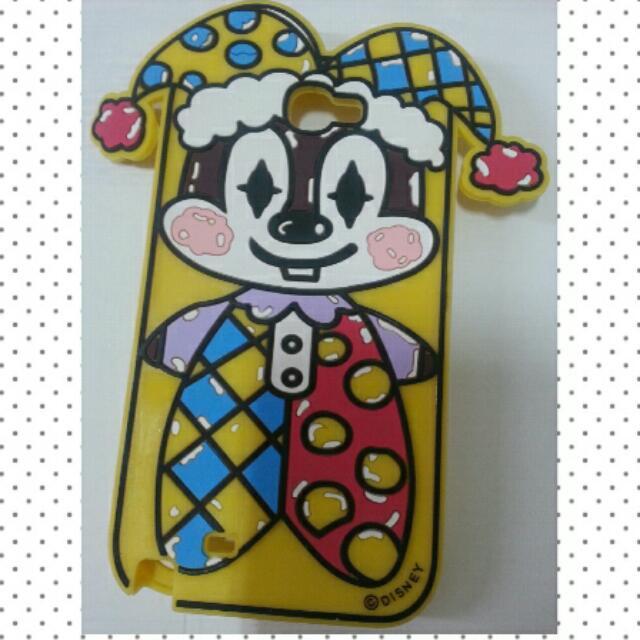 【全新】Disney 奇奇蒂蒂小丑手機套