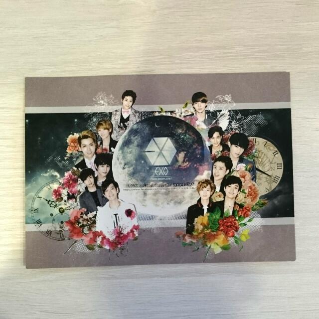 exo大卡(會送一張exo的貼紙哦