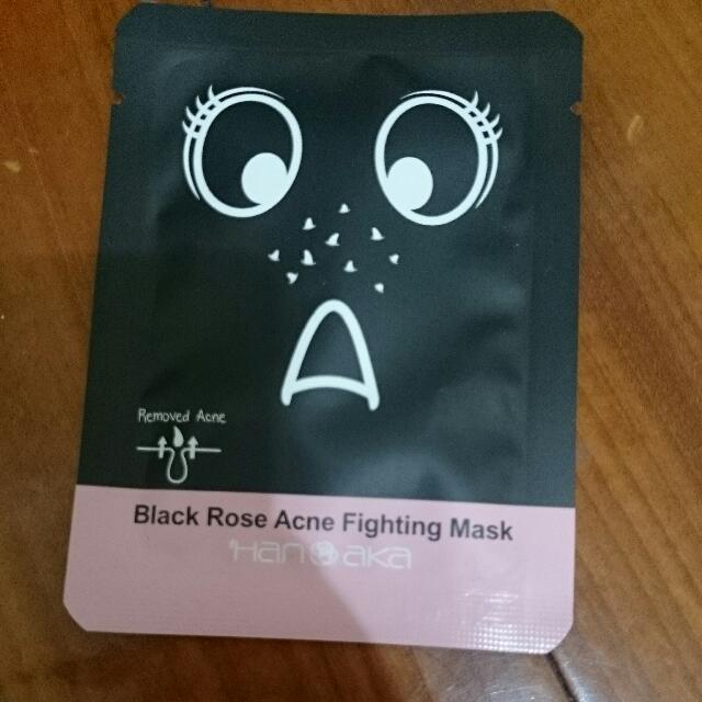 Hanaka 黑玫瑰終結粉刺撕除面膜 10g