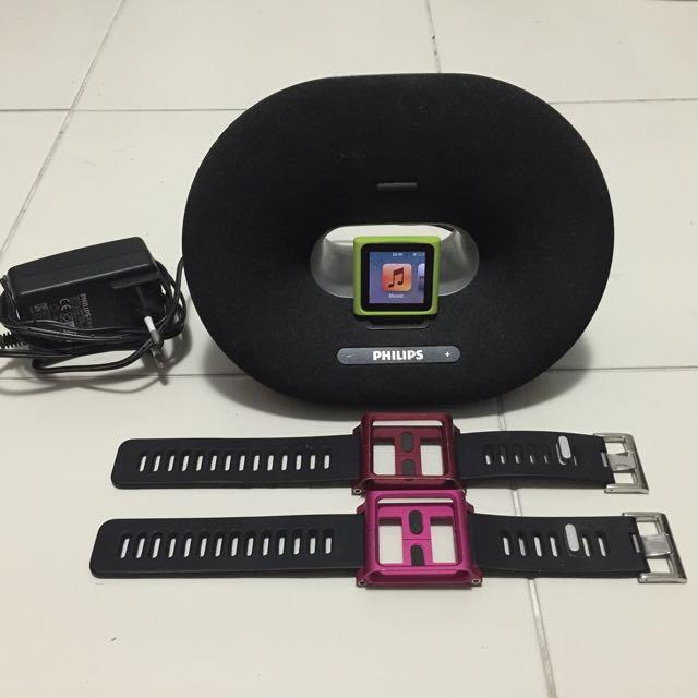 ipad nano 6th gen with accessories