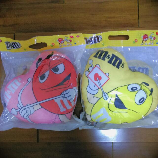 M&M's 小抱枕