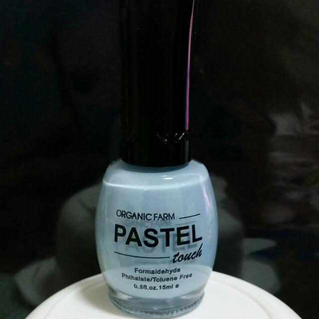 PASTEL指甲油(水藍)