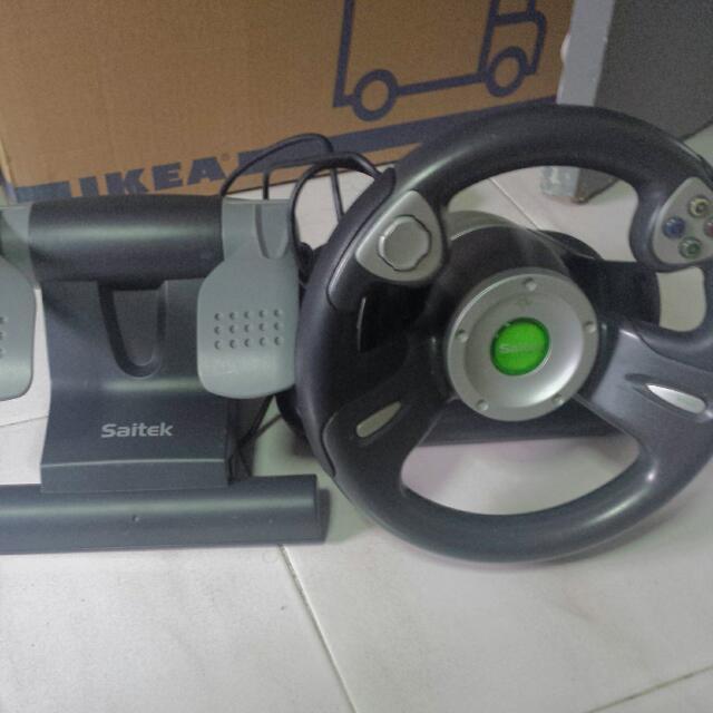 Wheel for XBOX. Controller.