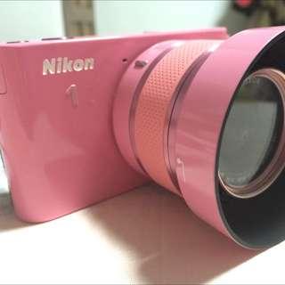 Nikon J1 粉紅限量版✨降