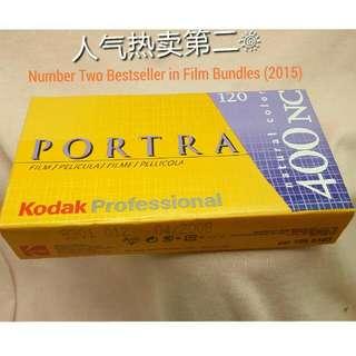 Bundle #F3 Kodak Portra 400 NC Professional Films Natural Color.