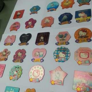 《二手》Hello Kitty 711集點磁鐵〘散裝〙