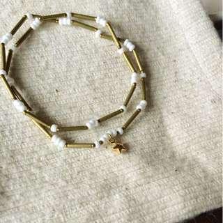 ◆hippie◆ Atacama│阿塔喀馬 (雙圈)來自星星的極細質感串珠手鏈