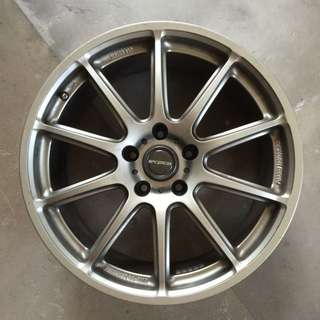 18 Inch Prodrive Japan Original Rims Only