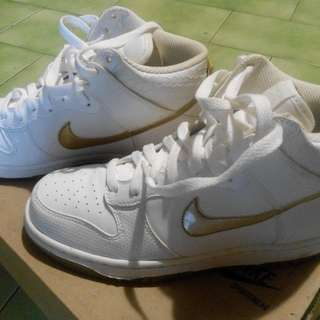 🎉 (降)Nike Dunk High (GS) 白鞋