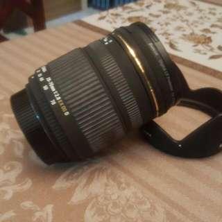 Sigma len 28-70mm f2.8