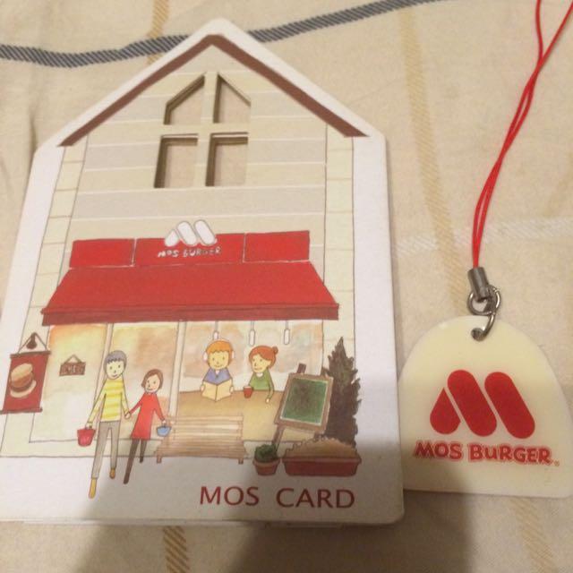 摩斯漢堡儲值卡-20週年限定版