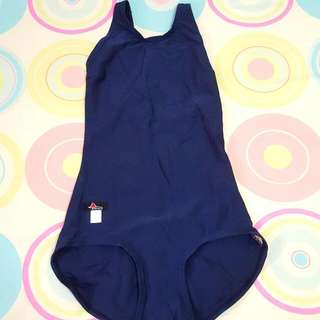 [BRAND NEW] 1-piece Navy-blue swimsuit