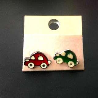 小汽車耳環(郵寄含運)