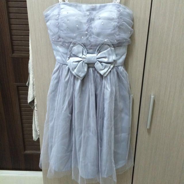平口小禮服