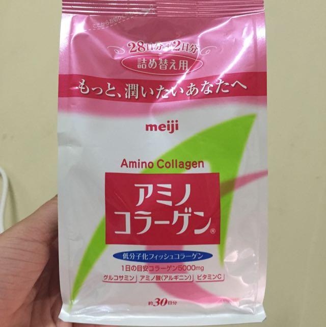 日本藥妝 膠原蛋白粉補充包