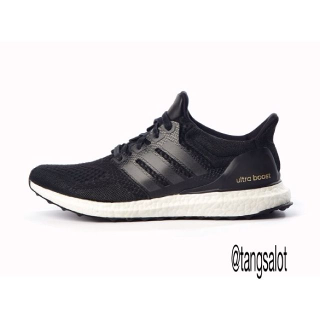 low priced 16aa1 8d637 Adidas Ultra Boost Pure All Black Running Shoes