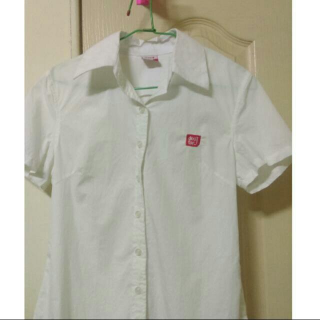 【Doctor J】免運✨白色襯衫女生M號