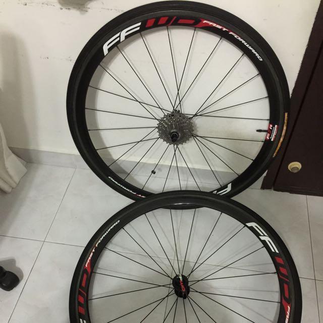 Fast Forward F4R Carbon Tubular Wheelset