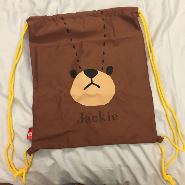 Jackie束口包