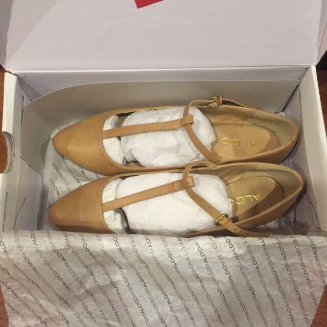 Pre Loved: ALDO Dinkens T-Bar Flat Shoes