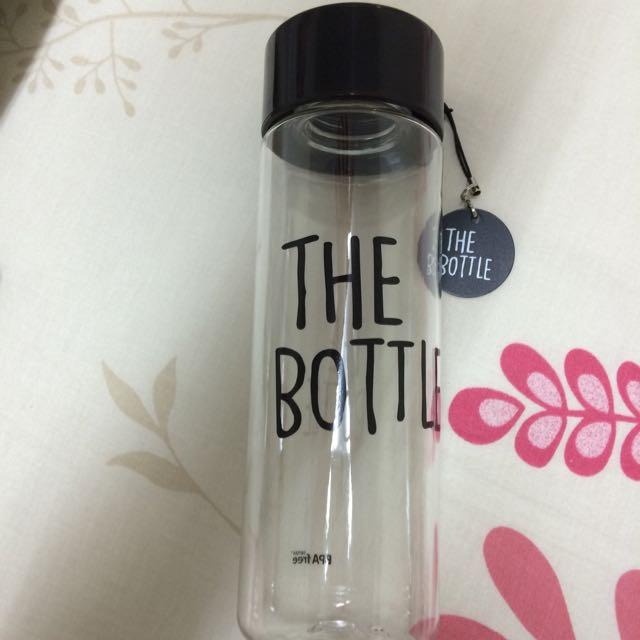 (保留中)韓國THE BOTTLE環保隨行杯550ml(黑色全新)