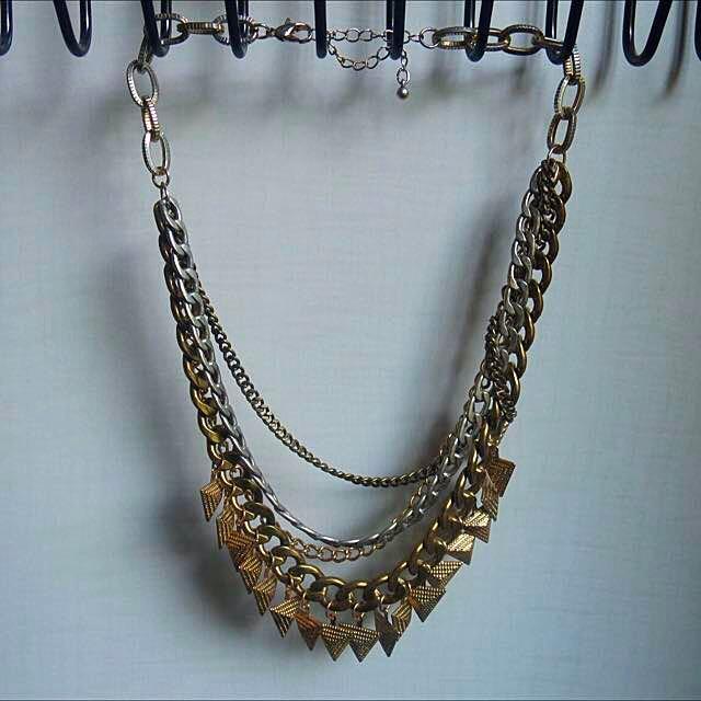 TOPSHOP Multi-chain Necklace