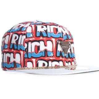 Joyrich 帽 後扣 可調 降價 保証正品 皮革 帽簷 含運