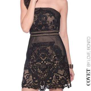 Love Bonito Addisyn Lace Dress (XS) BNIB