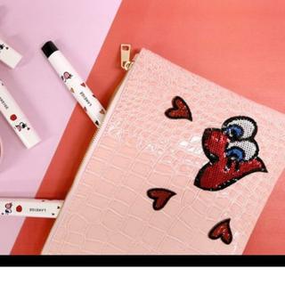 (全新未拆) Laneige x PLAYNOMORE 限量手拿包/化妝包