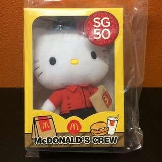 Mac SG50 MacDonald's Crew Hello Kitty