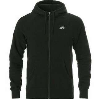 Nike Sb Icon Fz Hoodie 黑 灰 素 SB 百搭 夏天 必備 潮流 經典 男女 外套 728466-010 063 黑 灰。