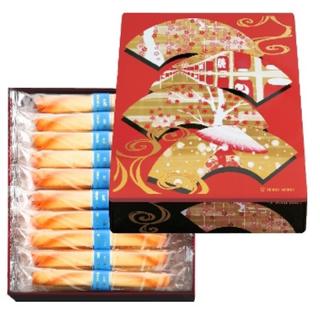 日本 YOKU MOKU 精美日式圖繪-原味雪茄蛋捲 一盒20入