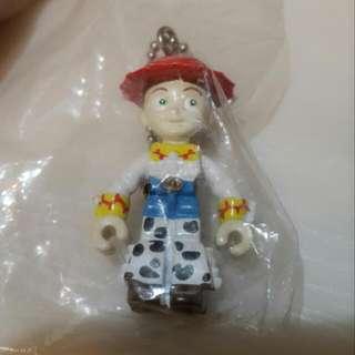 絕版扭蛋 玩具總動員 翠絲 積木吊飾