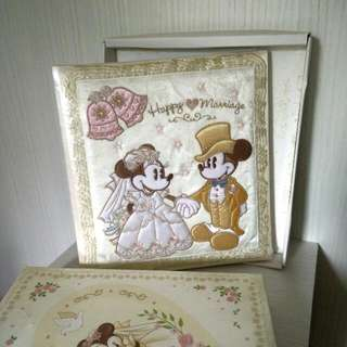 Official Mickey & Minnie Mouse Wedding Photo Album ***As New And Unopened***