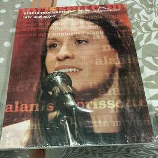 Alanis Morissette MTV Unplugged Guitar Songbook Magazine