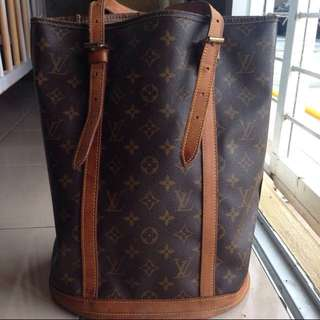 Authentic Louis Vuitton Bucket GM -reserved