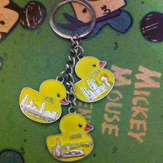 香港帶回 黃色小鴨吊飾