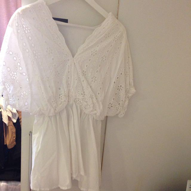 棉麻小洋裝