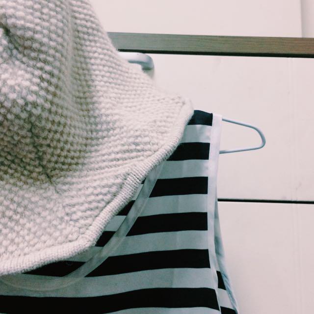 針織花邊帽