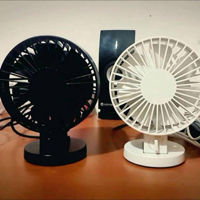 無印良品電風扇(黑色)