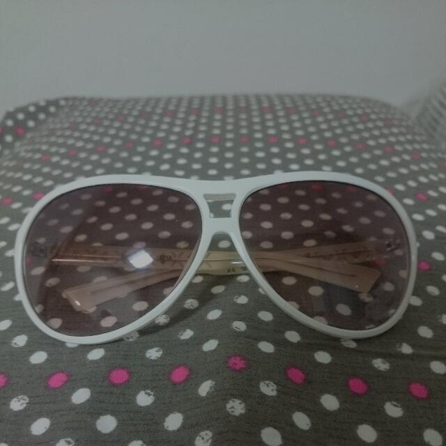 免運 Firenze白框太陽眼鏡(雷朋造型墨鏡)